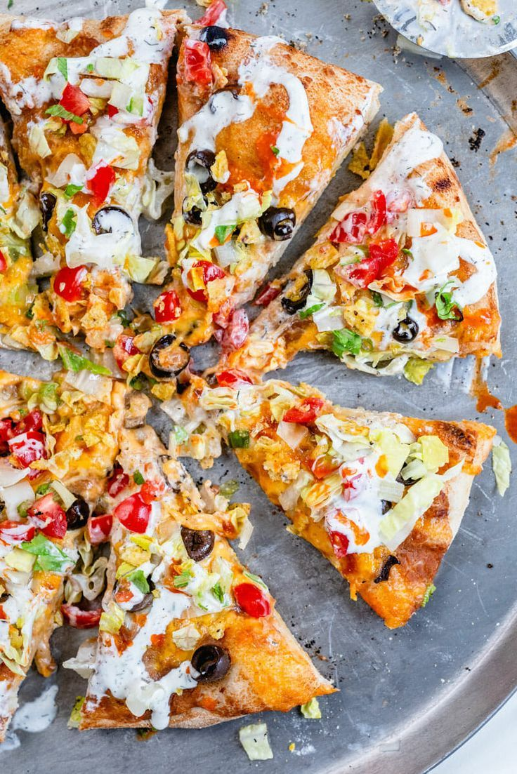 Taco Pizza  A Couple Cooks