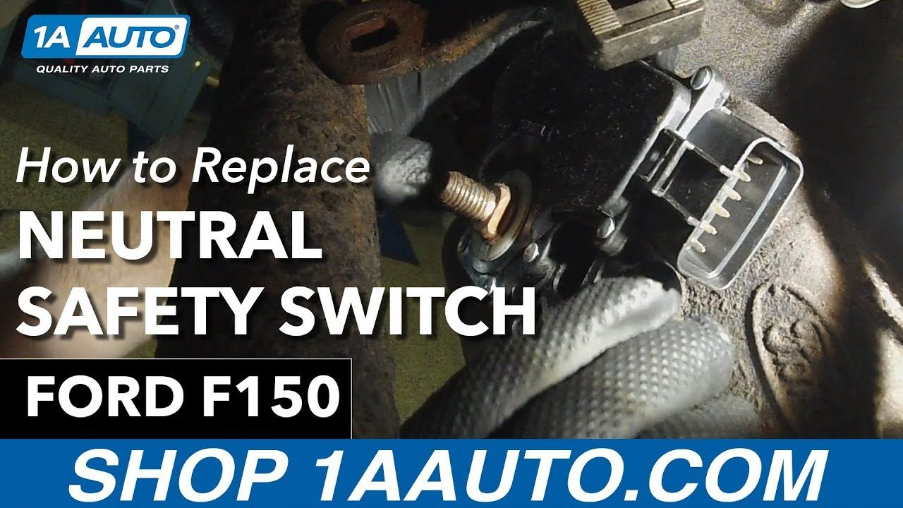How To Replace Neutral Safety Switch 9703 Ford F150