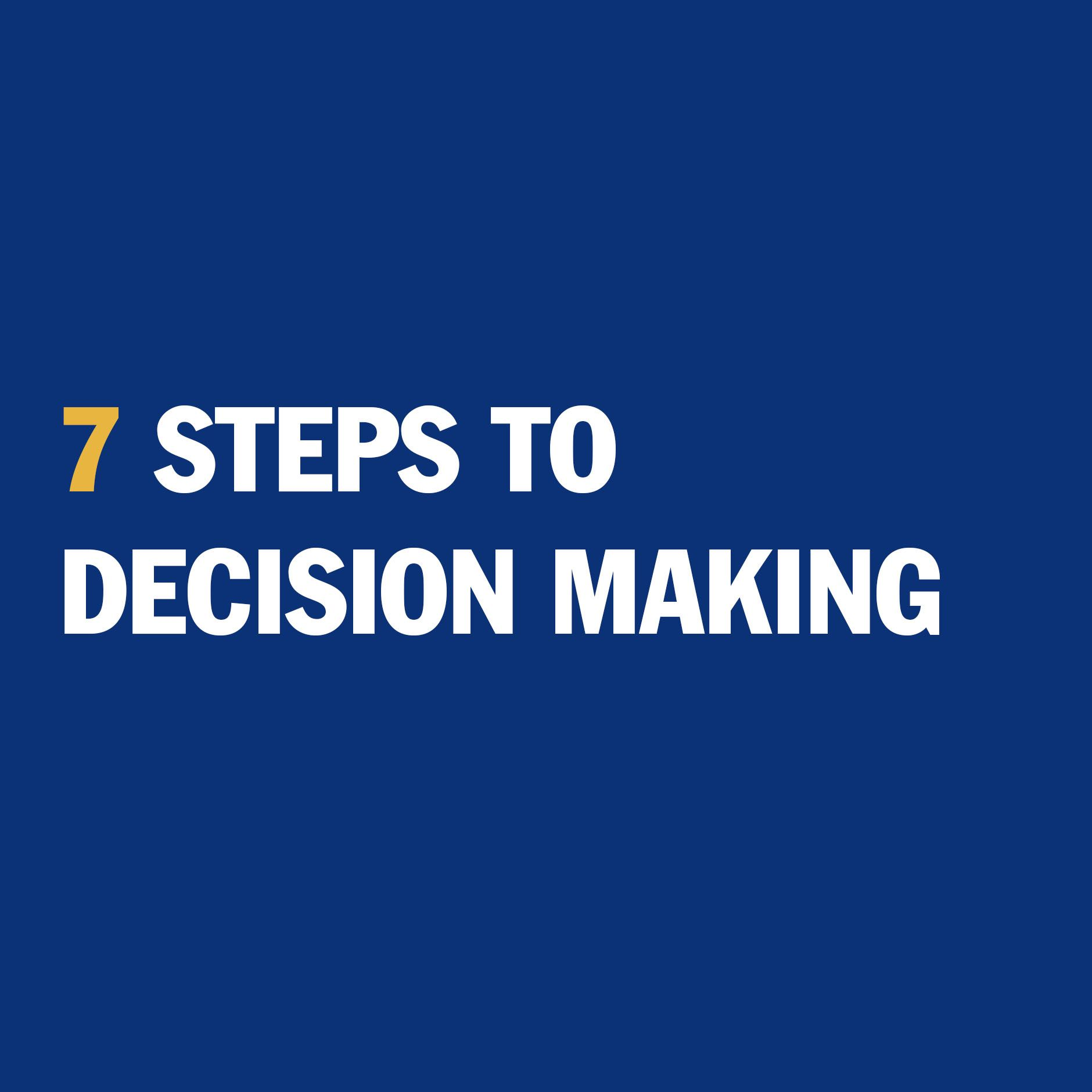 Are You Confident In Your Decision Making Skills If Not