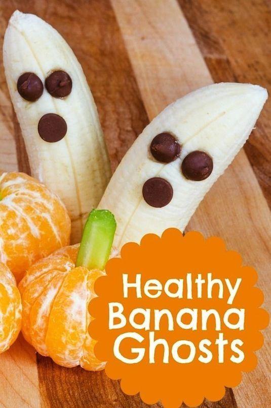 64 Non-Candy Halloween Snack Ideas #halloweenbreakfastforkids