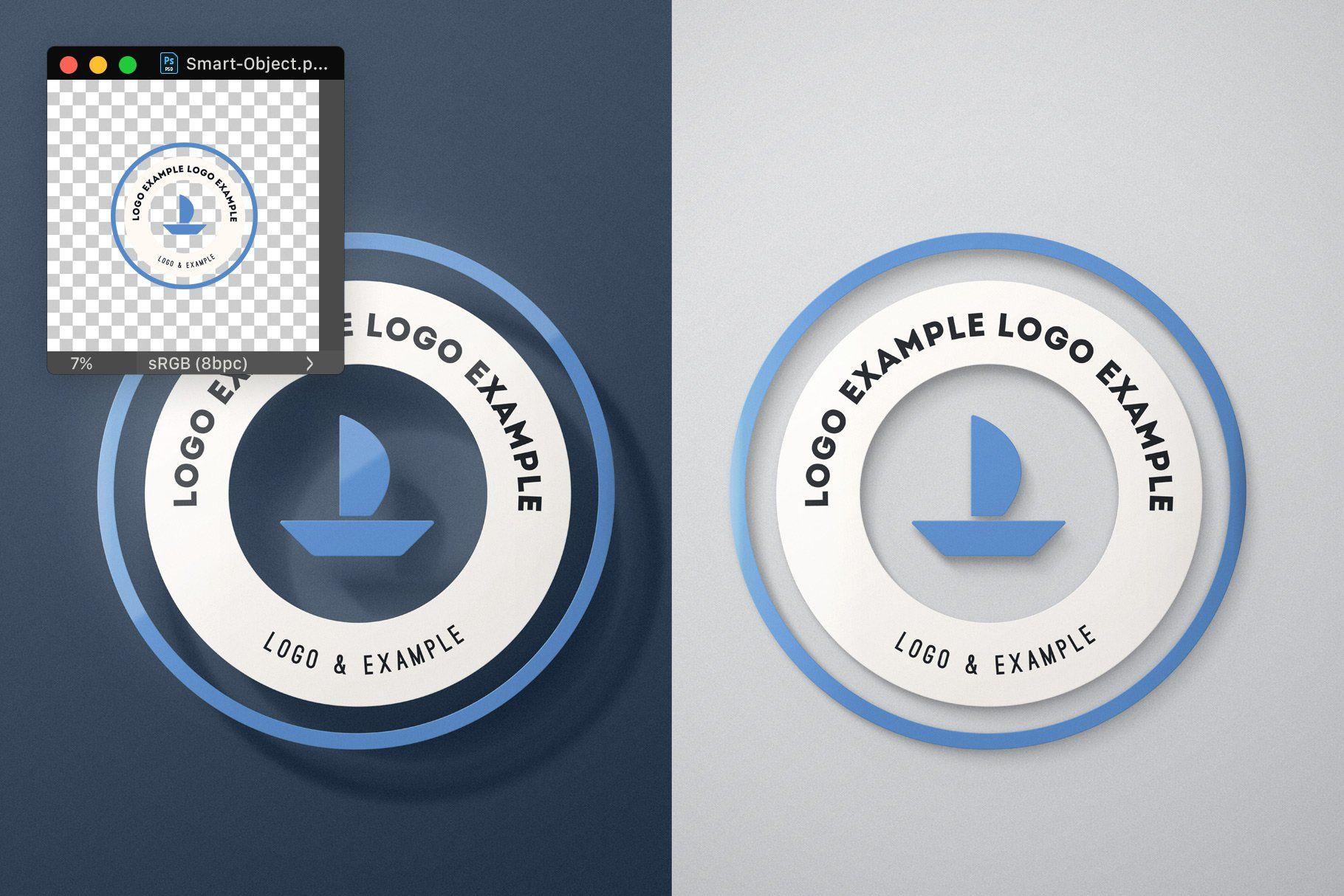 Universal Flat Mockup Any Format Presentation Design Mockup Design Postcard Mockup