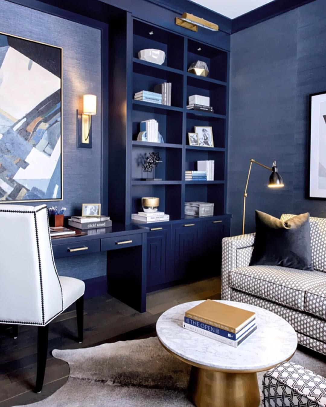 Navy Always Feels So Classic And Chic Interiordesign