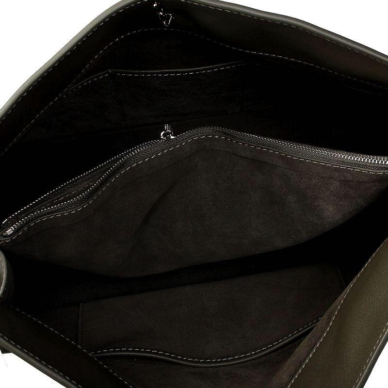 57ad48f6d656 discount Celine Original Leather Shoulder Bag Dark Green 3355 5 sale  online