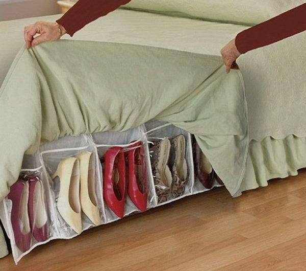 Under Bed Shoe Storage With Wheels Glamorous Under Bed Shoe Storage Httphativecreativeshoesstorage Decorating Inspiration