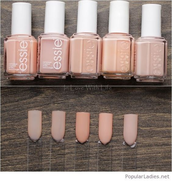 Matte Nail Polish Online: Awesome Nude Nail Polishes On Matte