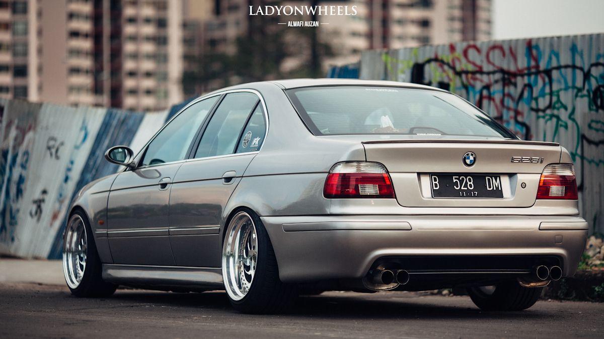 BMW E39 5 series silver deep dish | Bmw e39 | BMW, Bmw ...