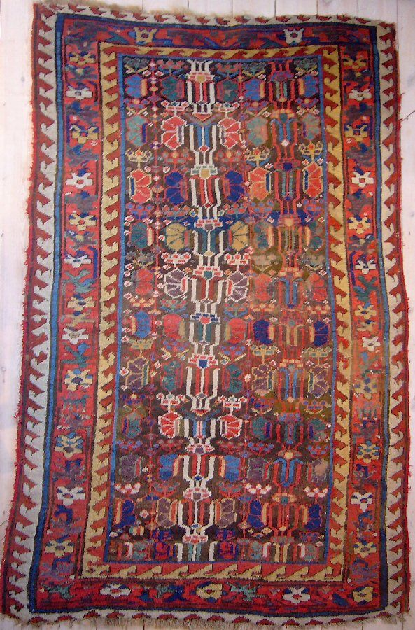 Larta Fully Subscribed Jozan Tribal Rug Oriental