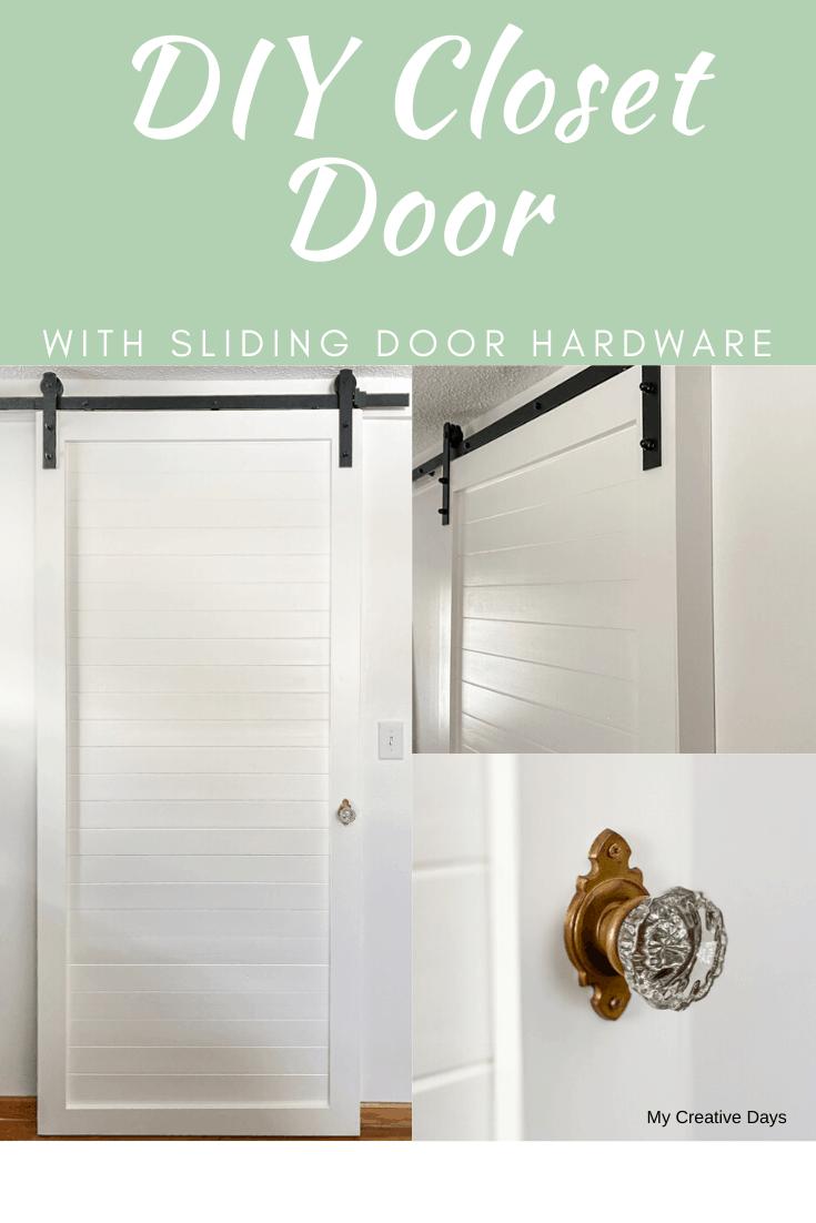 Diy Closet Door With Sliding Door Hardware Diy Closet Doors