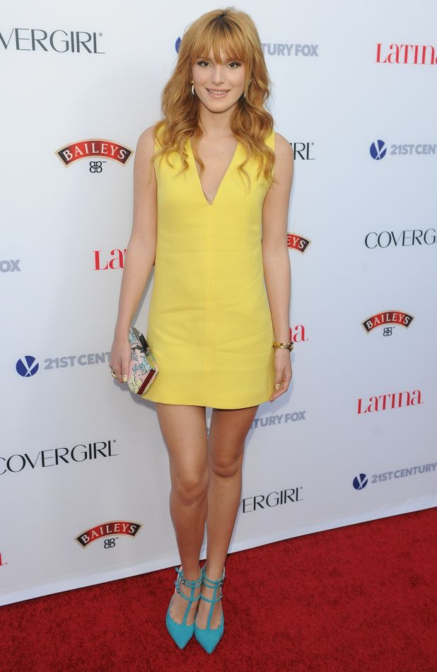 Bella Thorne at Latina Magazine's Hollywood Hot List Party in Los Angeles