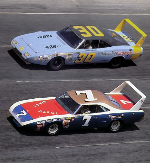 Richard Petty For Sale: Vintage Race Cars 1969 Dodge Charger Daytona On The Top
