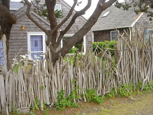 Cottages with Driftwood Fence at Cannon Beach photo by