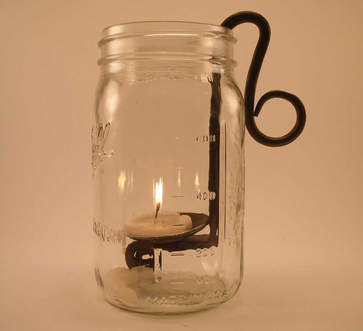 General Mason Jar Candle Holders Part Explanation