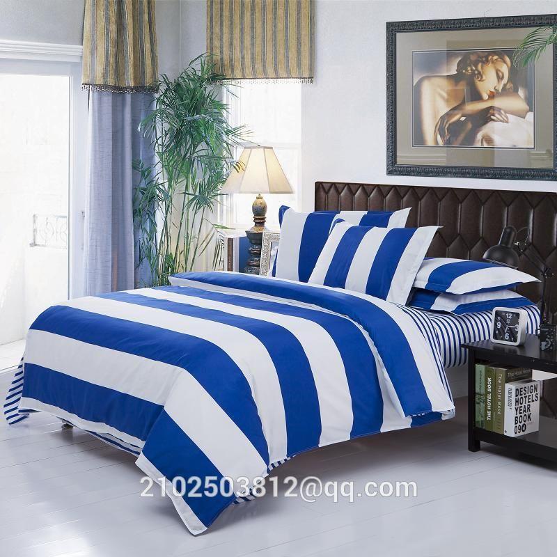NO1) home textiles, 4 sets of Muji bedding (Bedding bag bedsheets - sample cover sheet