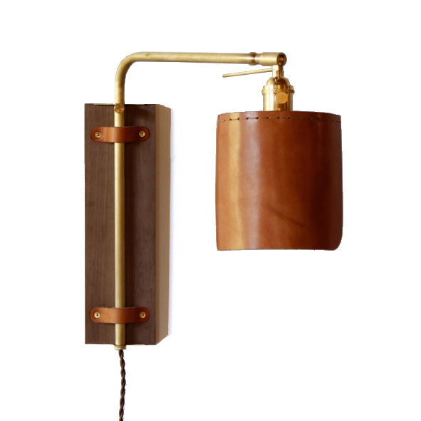 Leather Wall Sconce Wall Sconces Sconces Interior Wall Sconces What is a wall sconce