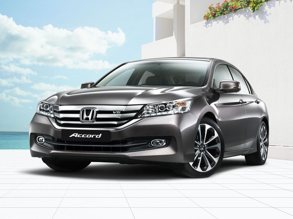 2015 Honda Accord Sport Front Photo HD Wallpaper