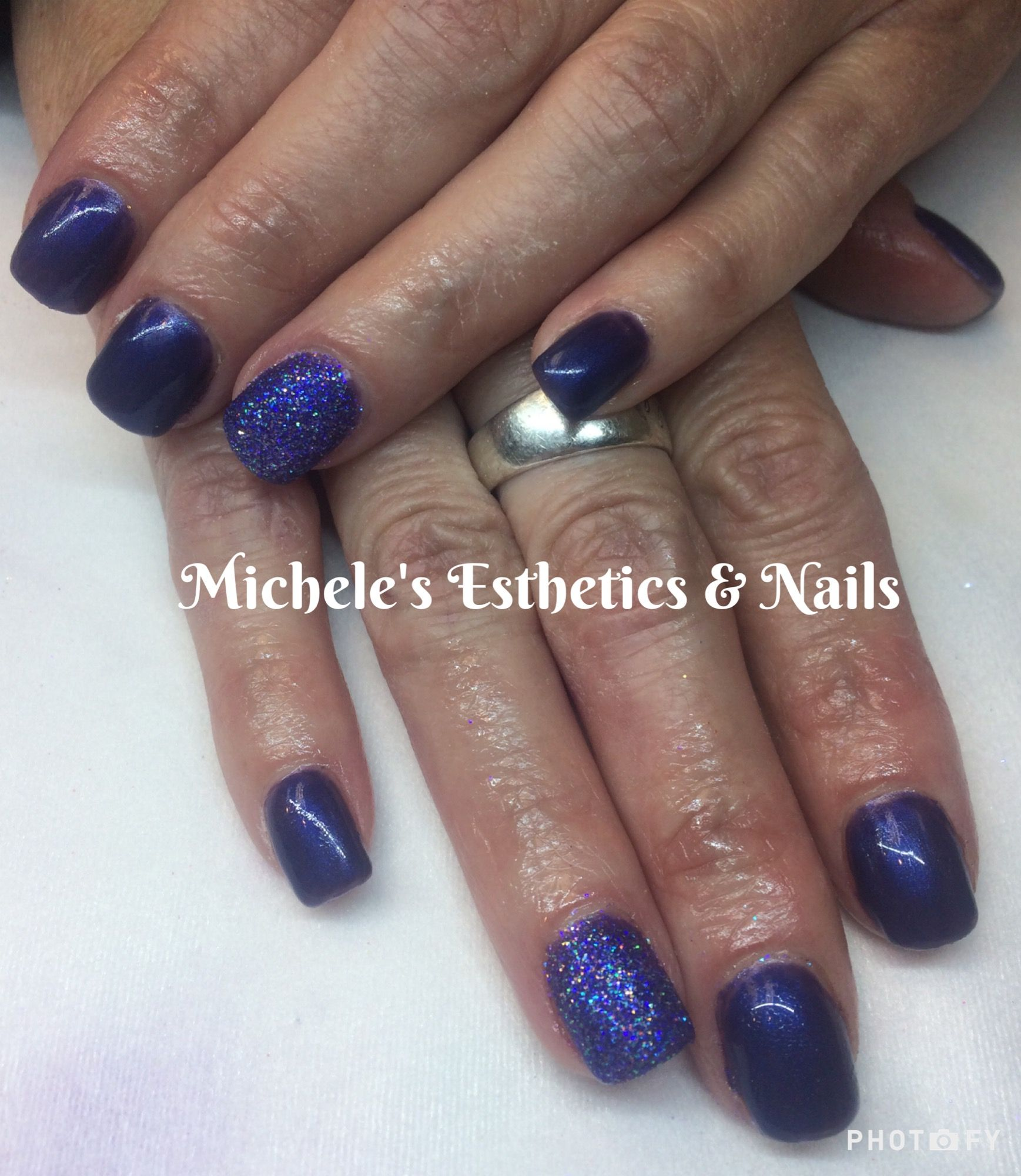 Light Elegance gel with Young Nails Maniq Color & a sugar nail to ...