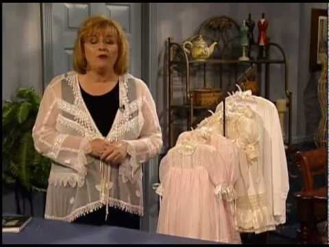 ▷ Beginning Heirloom Sewing by Machine with Martha Pullen - YouTube ...