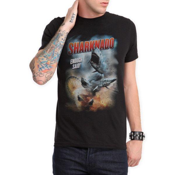 Sharknado Enough Said Slim-Fit T-Shirt 2XL | Hot Topic