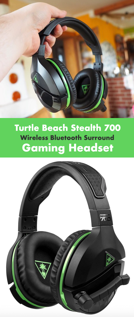 Turtle Beach Stealth 700 Wireless Bluetooth Surround Gaming Headset For Xbox Pc In 2020 Gaming Headset Headset Gaming Headphones
