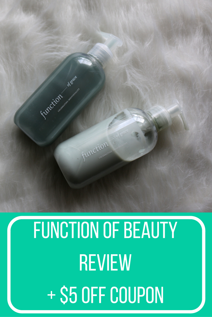 Function of Beauty Review + $5 off Coupon   All Things Girly ...