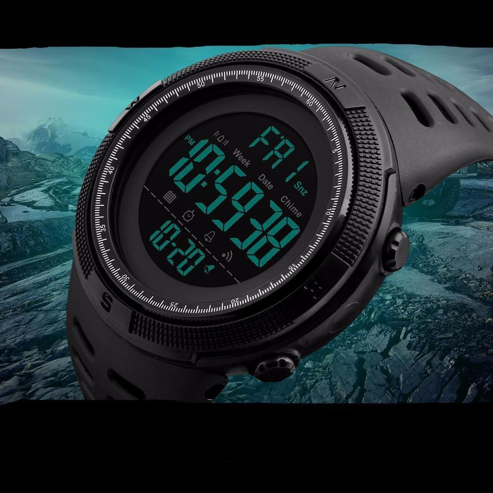 1f65afb1d093 Commando Military Digital Waterproof Men s Watch