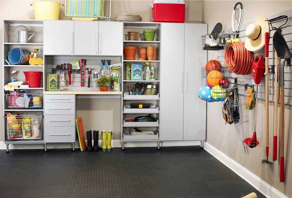 Garage Storage Solutions · SchrankGarage AufbewahrungssystemeGaragen Ideen  SpeicherGaragen ...