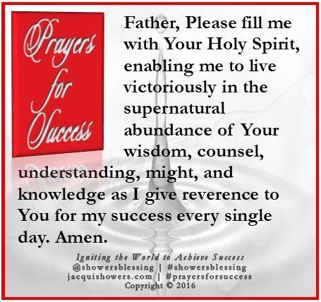 PRAYER FOR SUCCESS Oct 1   Prayerfully Fit   Prayer for