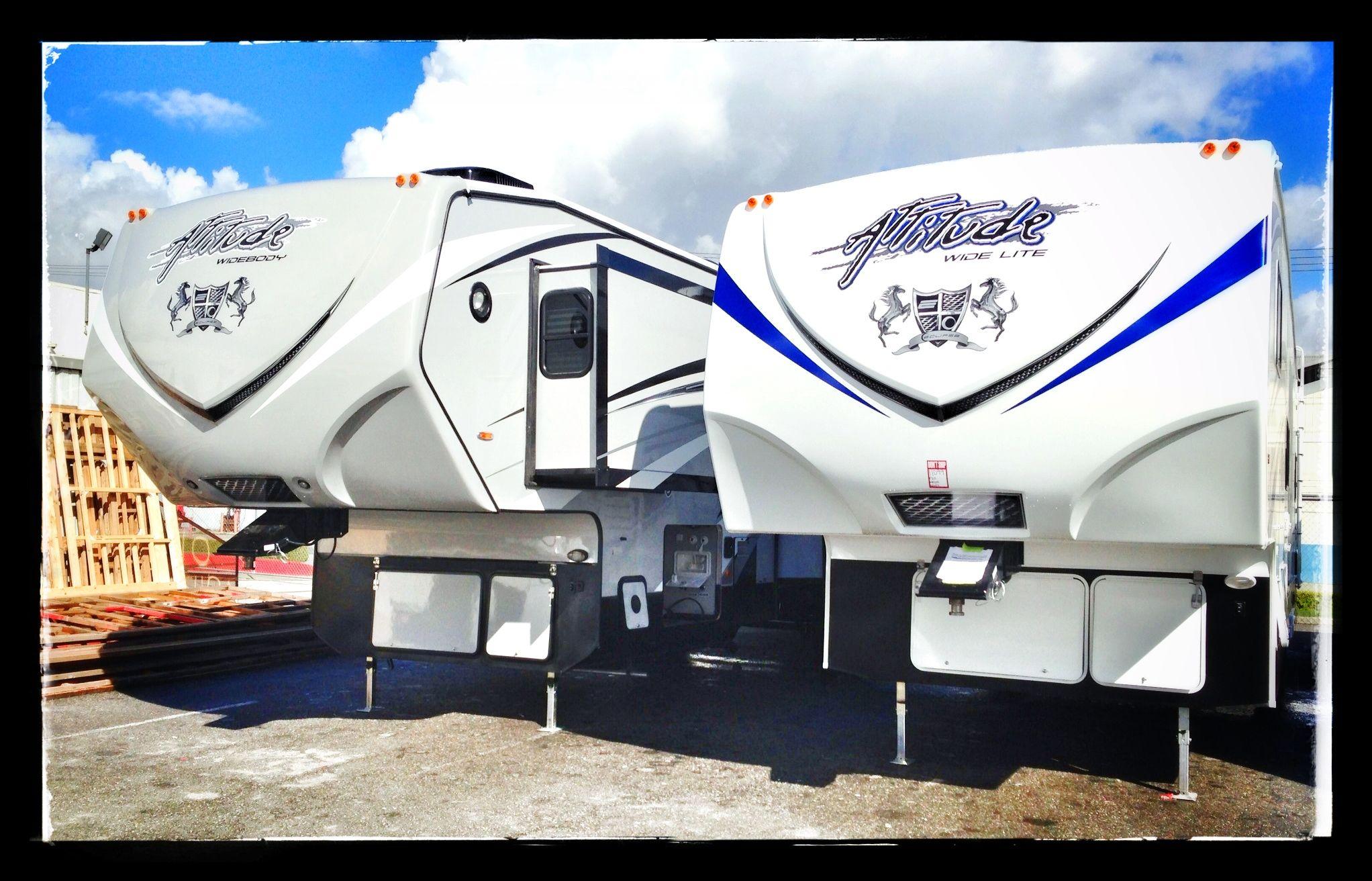 Attitude toyhaulers!!! yesss Toy hauler trailers, Toy