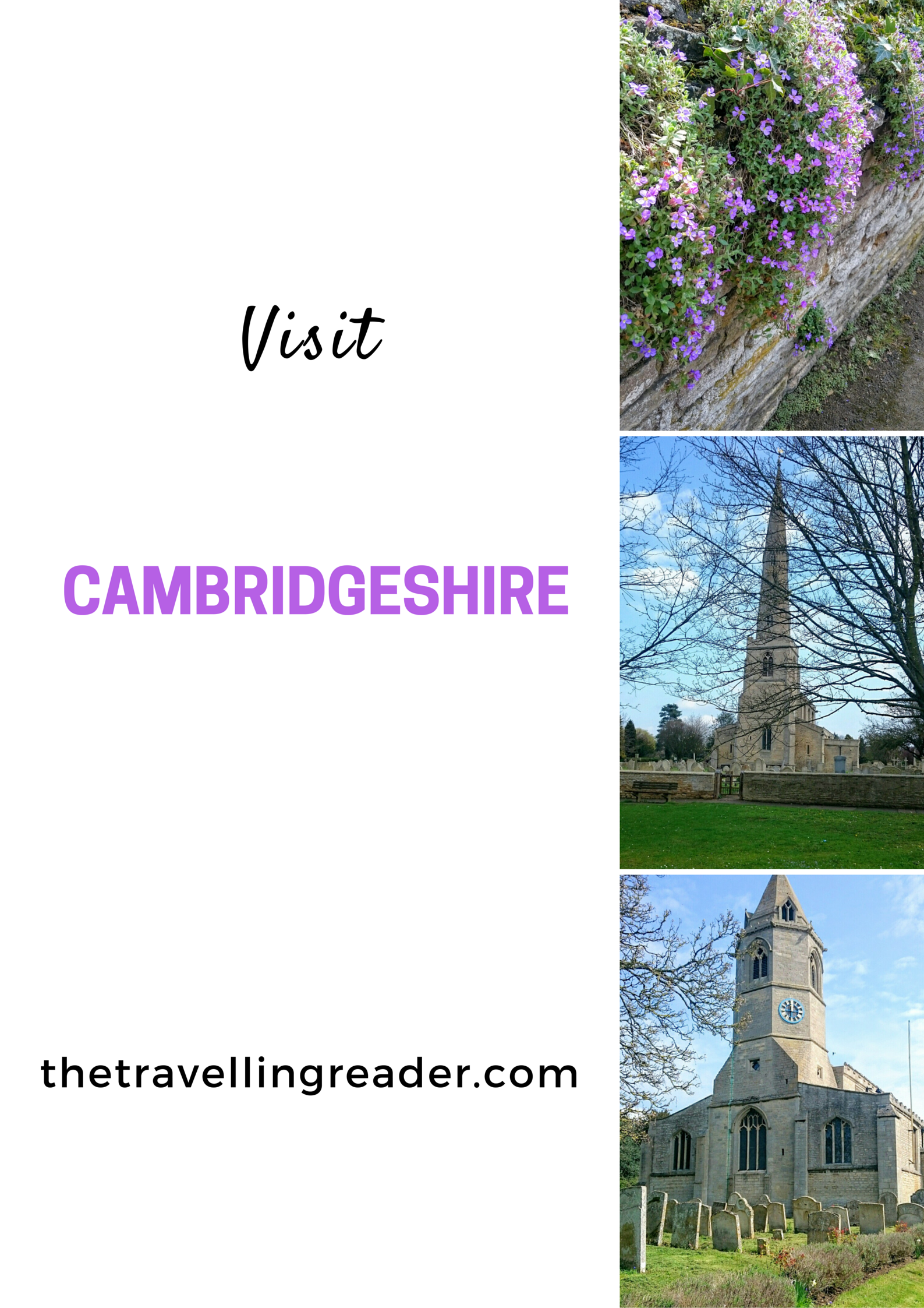 Visit the villages of Helpston, Glinton and Northborough with me on my reading travels.