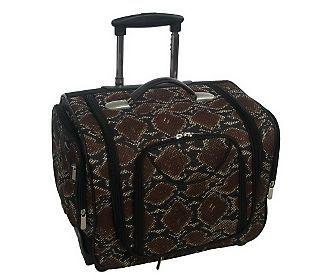 Deluxe Weekender Bag By Lori Greiner 72 17 L X 15 H X 13 D