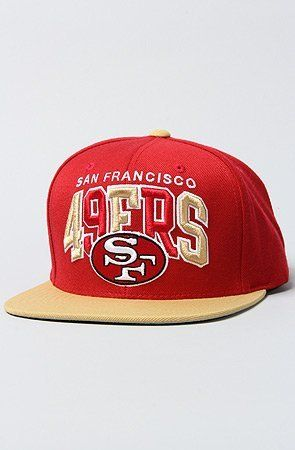 45867259 Mitchell & Ness San Fran 49ers Arch Logo Tri Pop - ( Red/Gold : Tri Pop )  Mitchell & Ness. $26.00