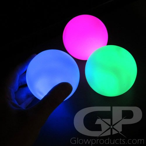 Led Round Ball Decor Lamp 9 Mode Multi Color Led Decor Color Changing Led Glow Party