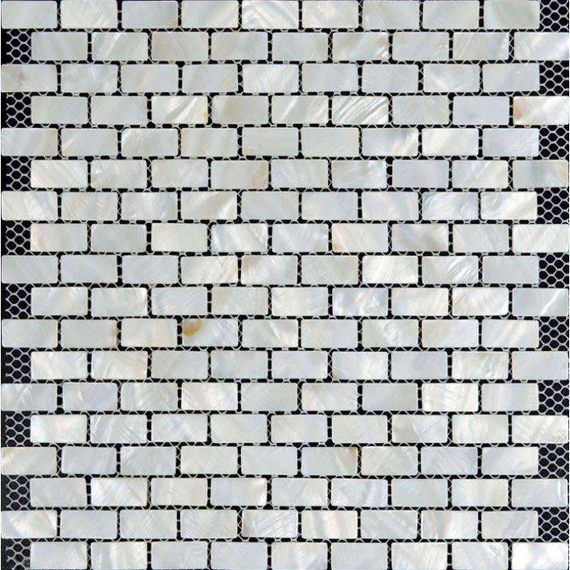 white subway tile backsplash ideas bathroom 35x1 16 inch mother of - Ubahn Fliese Backsplash Ideen