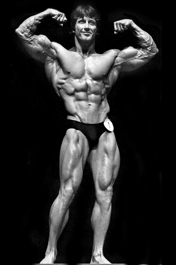 They broke the mold when they made this one Mr Olympia Frank Zane - fresh arnold blueprint day 19