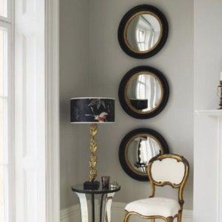 Pantaleon y las decoradoras abelardo y los c rculos for Decoracion espejos redondos