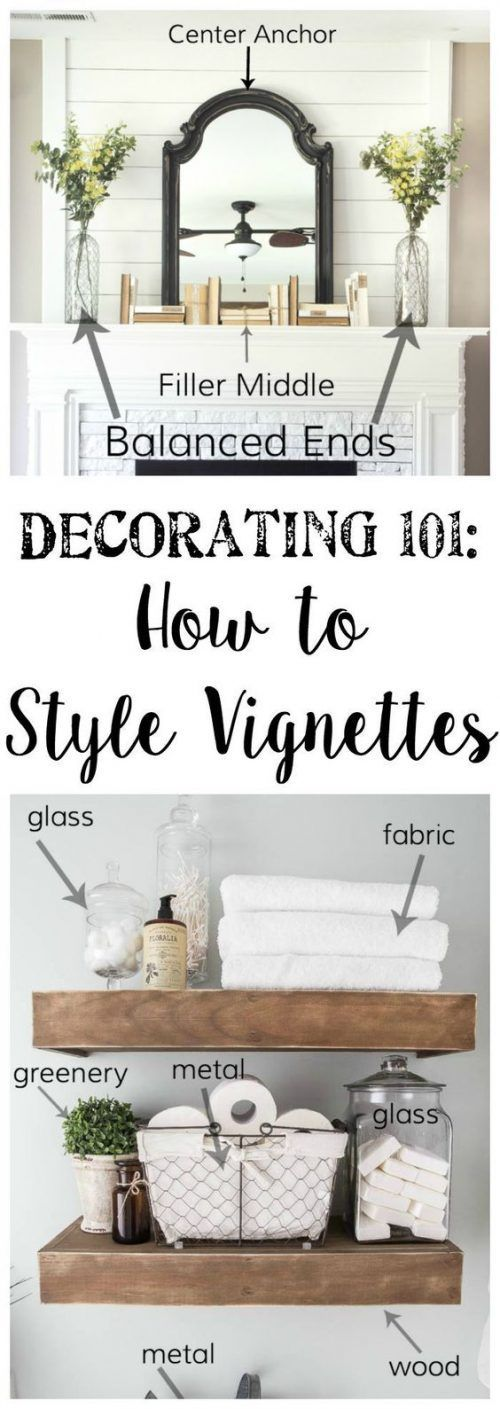 Aesthetics are everything! Learn the art of decorating with Vignette Styling plus Home Staging Tips and Ideas - Improve the Value of Your Home on Frugal Coupon Living.