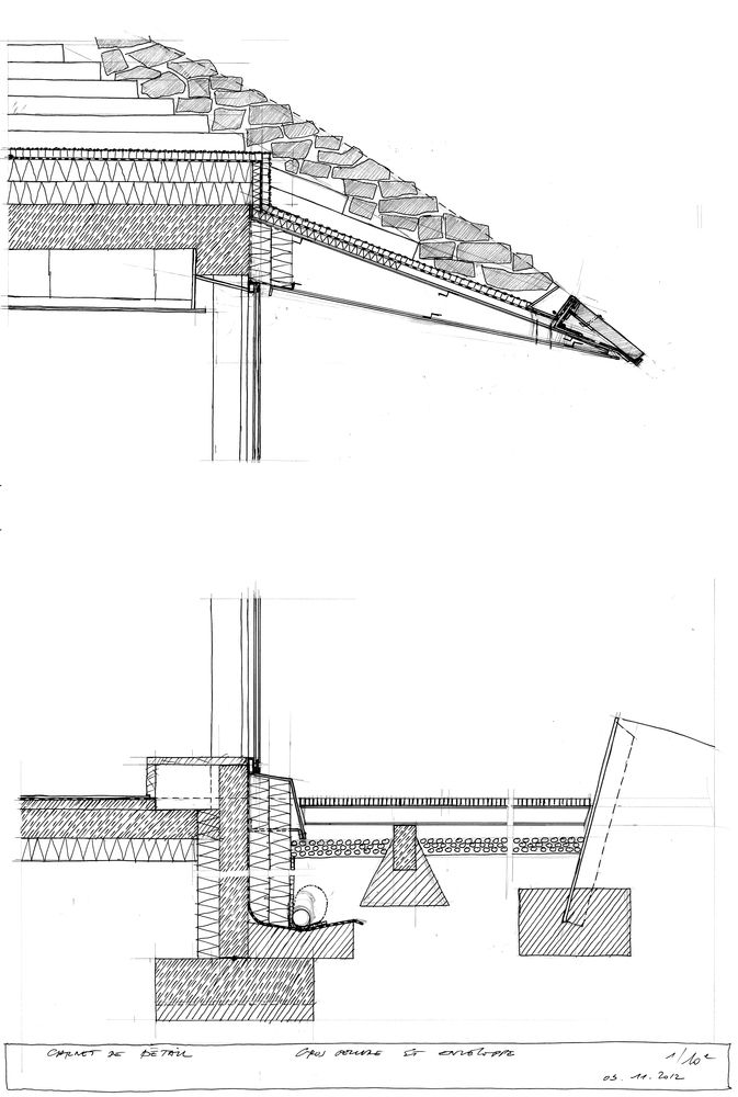 Gallery Of Mountain Top Restaurant Gbau 26 Architecture Drawing Architecture Details Mountain Top