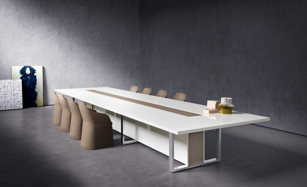 Table De Reunion De Luxe Board Pour Direction Table De Reunion Salle De Reunion Salle De Conference