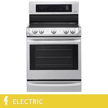 Lg 6 3cuft Electric Range With Probake Convection And Easyclean