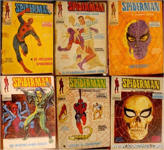 Spider covers