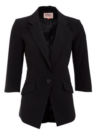 3a4944614 Black Sophia Boyfriend Blazer: New Look | My Style | Fashion, New ...