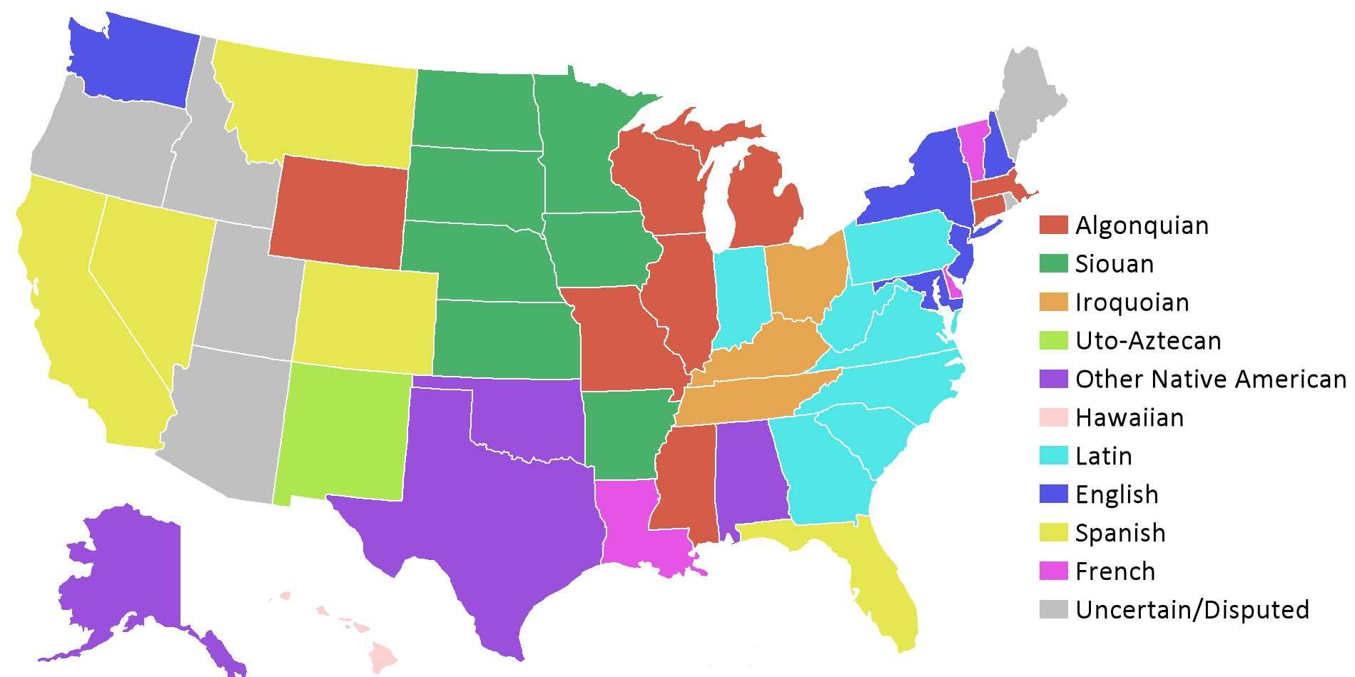 Here\'s What All 50 State Names Actually Mean | U.s. states ...