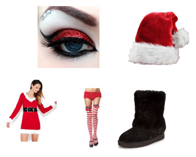 """""""christmas time is here"""" by love-1-627 ❤ liked on Polyvore featuring Wet Seal and UGG"""