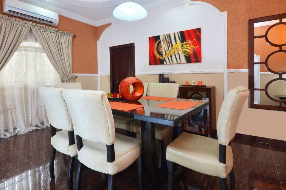 Exceptional Dining Room Design And Decor By Us. #interiorculturebyobiageli. Project For  Residential Home Interior Gallery