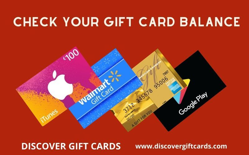 Easy to check gift card balance online discover gift cards