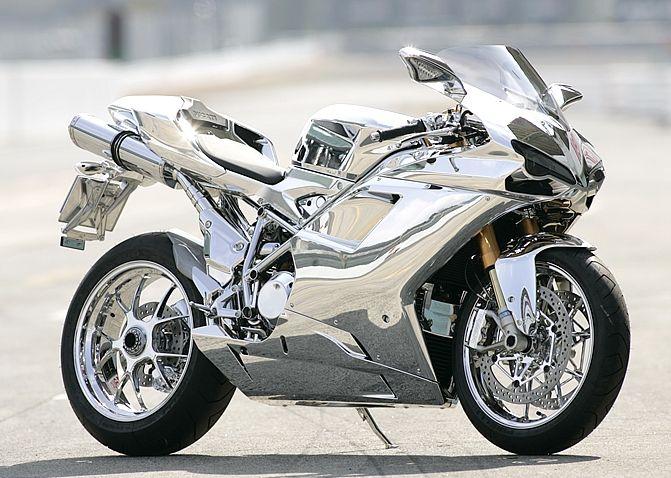 DUCATI 1098S custom chrome   Motorcycles   Pinterest   Ducati 1098s