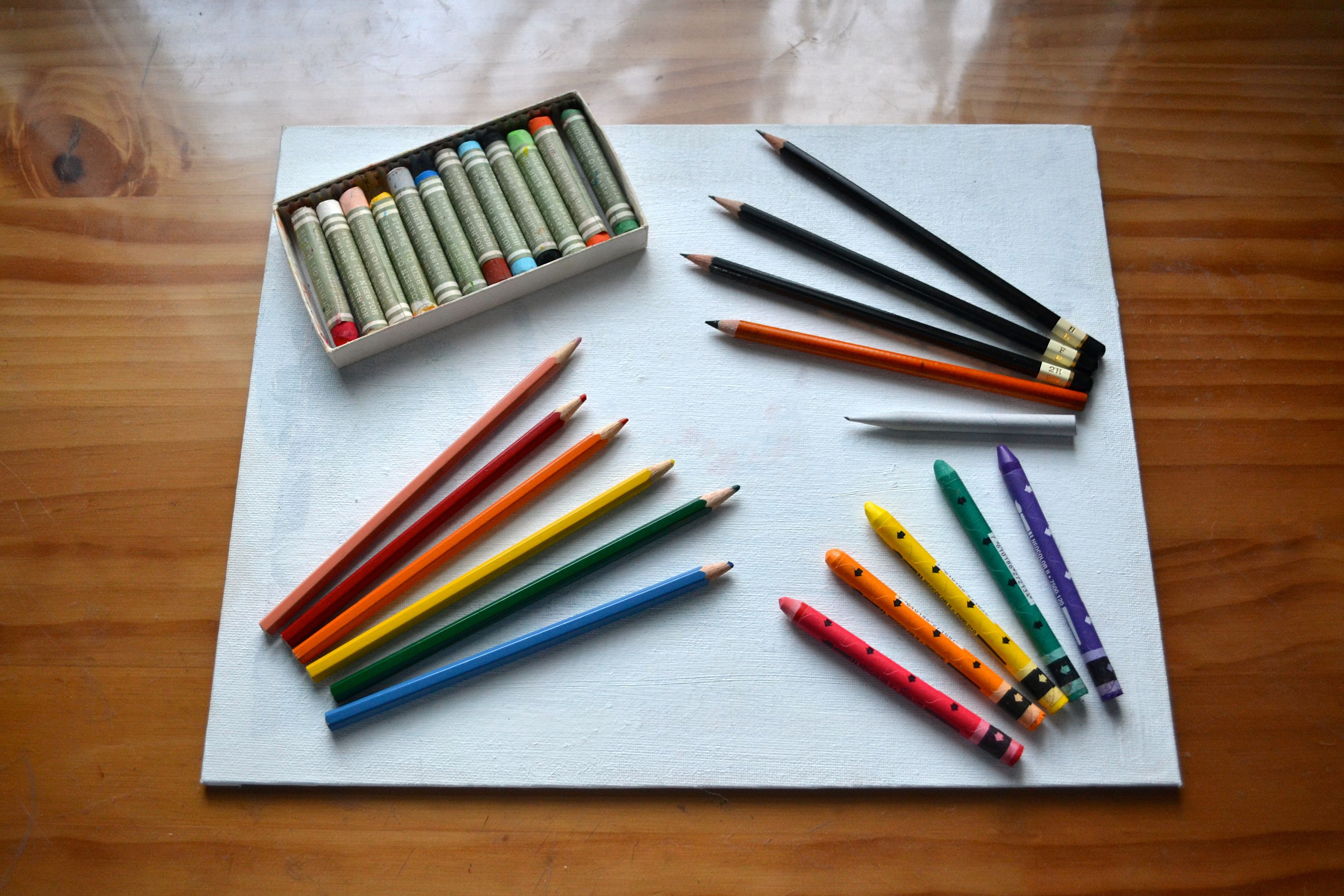 How To Draw On Canvas Color Pencil Art Learn Art Colored