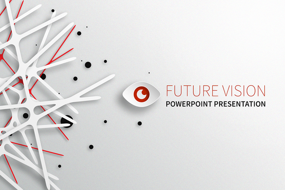 future vision powerpoint templatedesignsomething on creative, Modern powerpoint