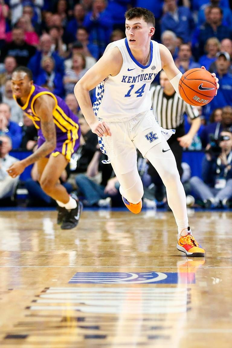 Kentucky Guard Tyler Herro Keeps Rising Up The Nba Draft Charts Kentucky Sports College Athletics Kentucky Wildcats Basketball