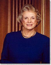 Supreme Court Justice Sandra Day O'Connor__March 26, 1930__Sun in Aries,  Moon in Aquarius,  Capricorn Rising